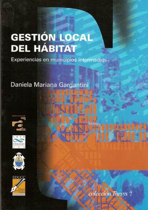 Gestión local del hábitat: experiencias en municipios intermedio